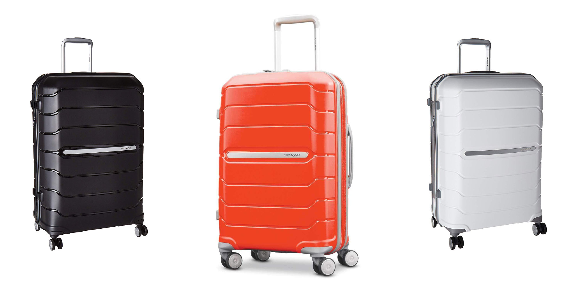 Samsonite's Freeform Hardside Spinner Luggage sees new lows w/ prices starting at $69 (40% off)
