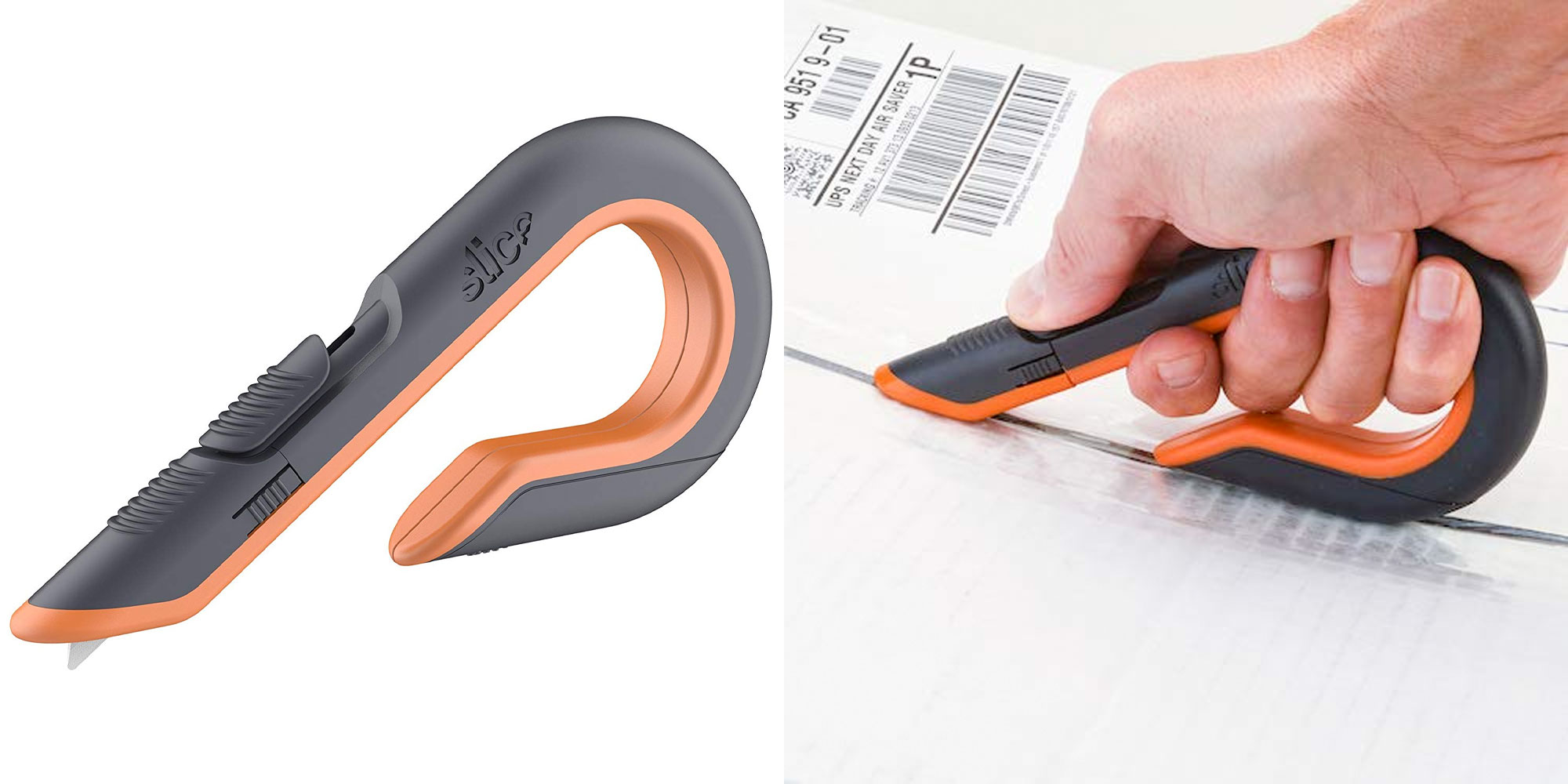 For $12 Prime shipped, this ceramic box cutter automatically retracts its blade when not in use