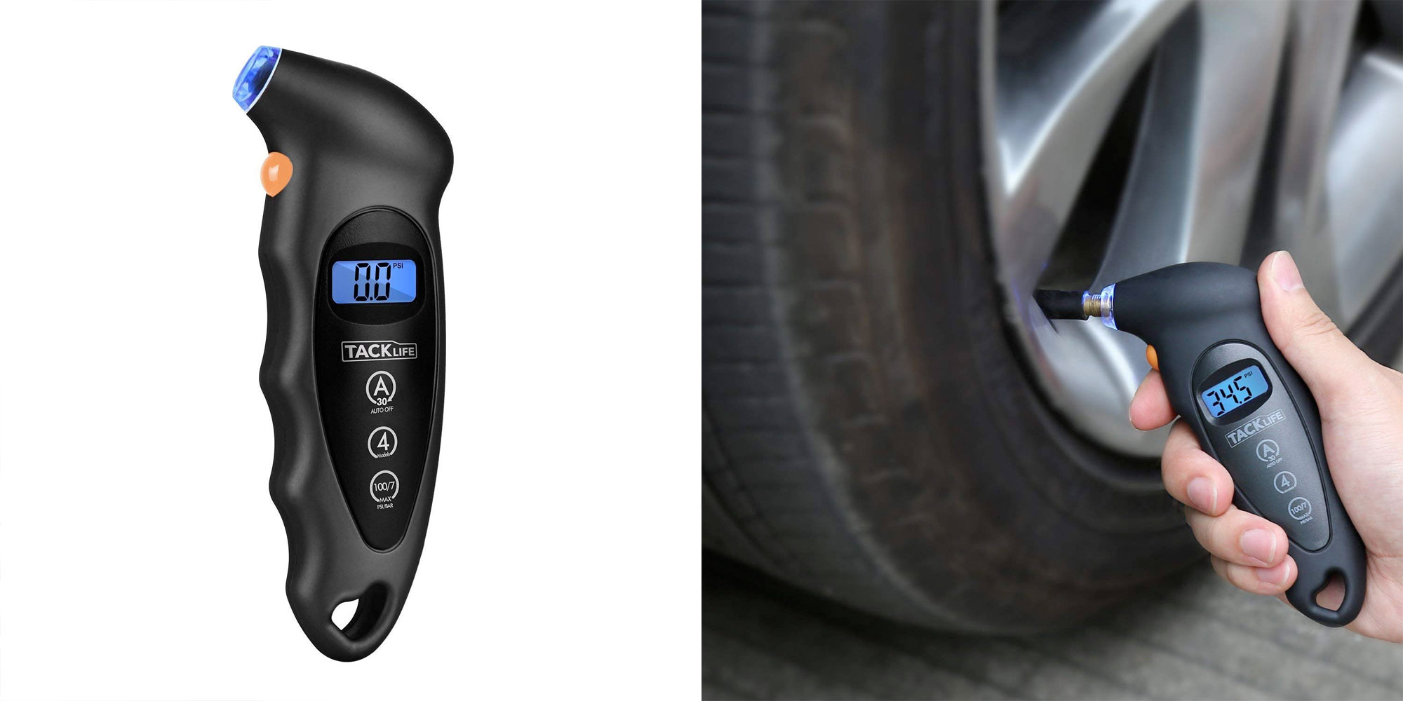 Check your tire's pressure w/ 2 of these digital gauges for $10.50 Prime shipped