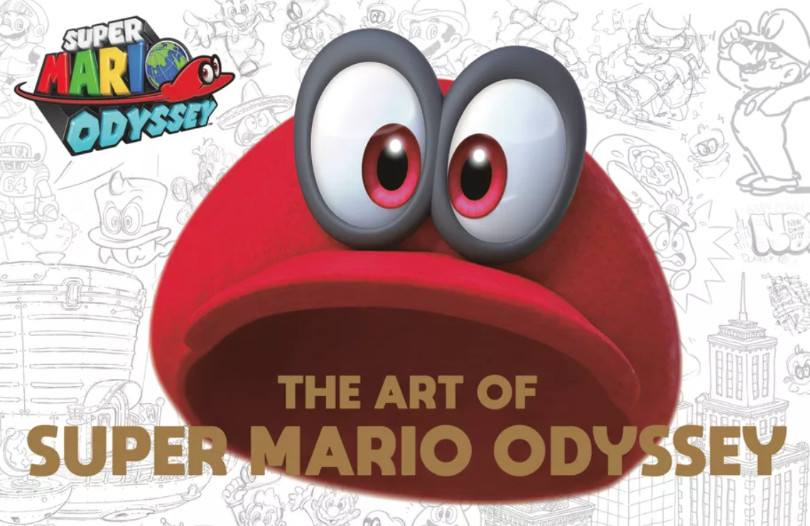The Art of Super Mario Odyssey comes to the US