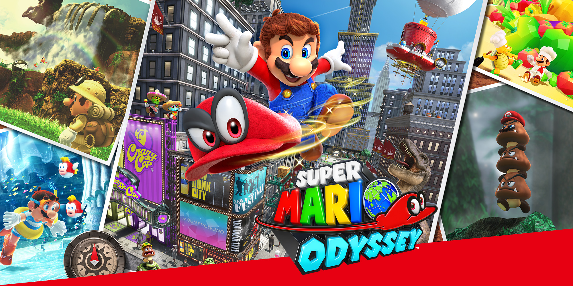 The Art of Super Mario Odyssey book featuring Bowsette comes to the US this year