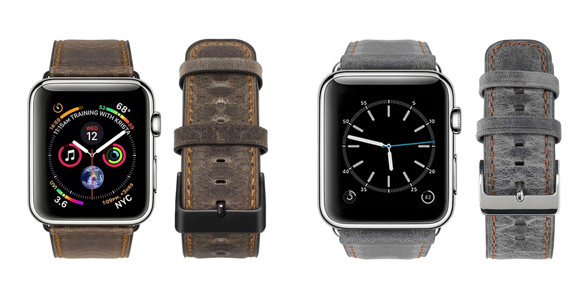 Save 50% on an Apple Watch leather band & expand your collection for $7 Prime shipped