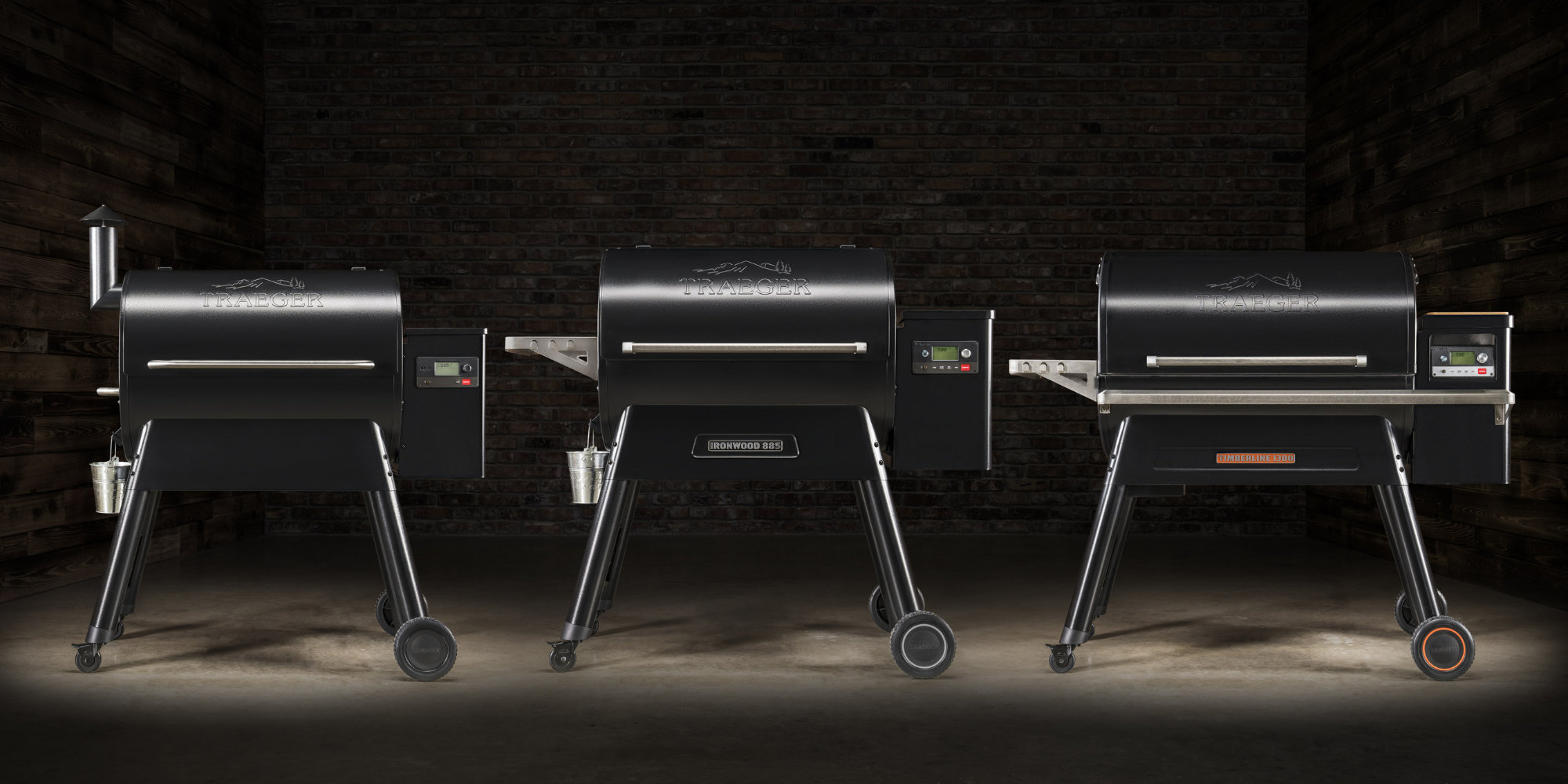 Traeger's new smart grills let you monitor food, tweak temps, and set timers from iOS or Android