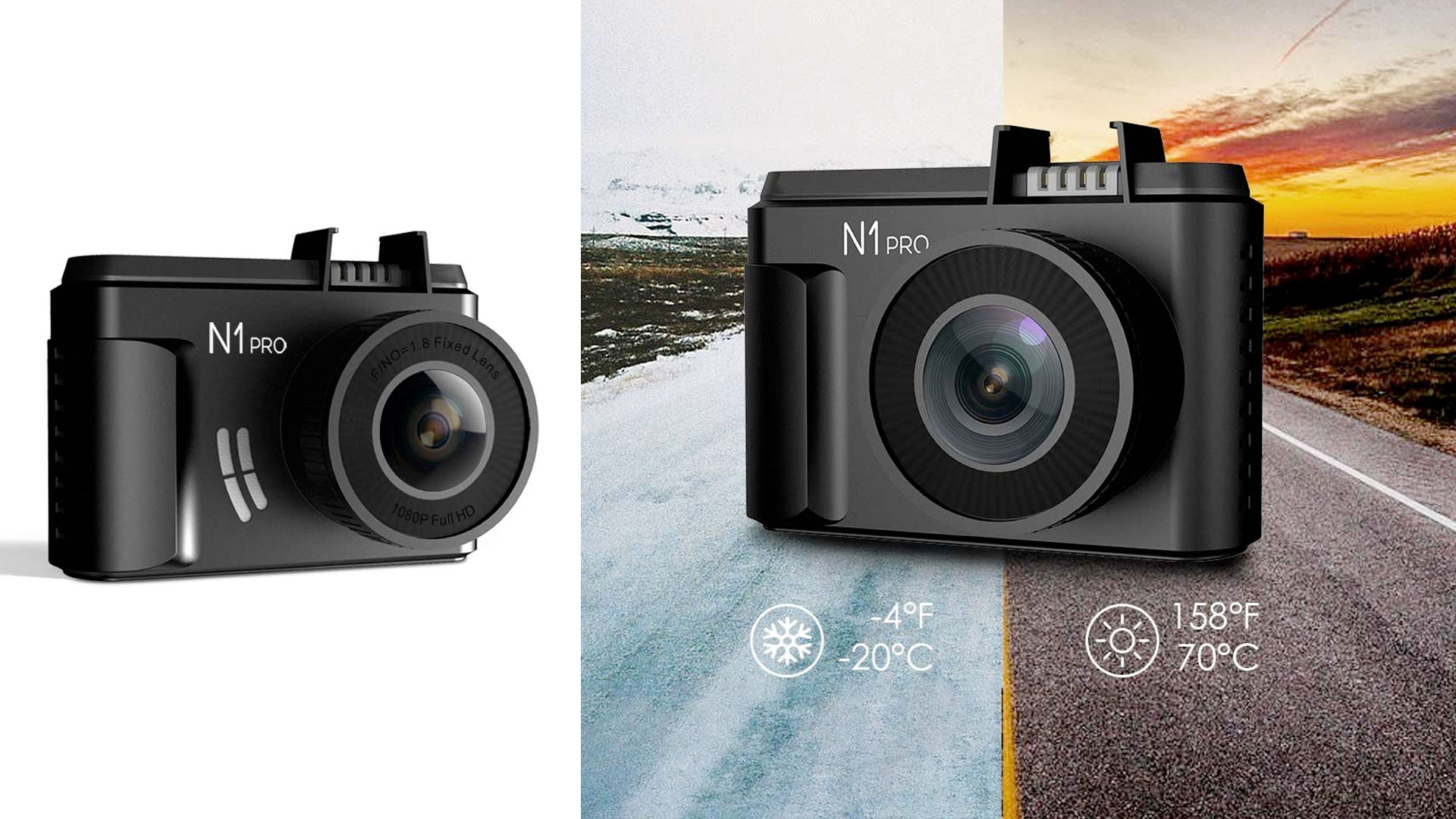 Record it all & log your GPS location/speed w/ this $58 1080p mini dash camera