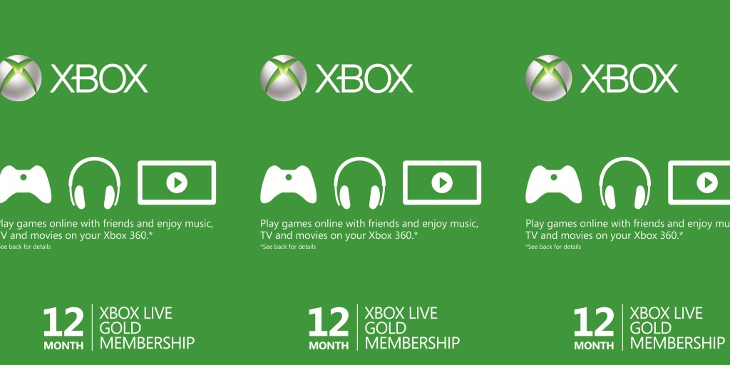 Here's a 1-year Xbox Live Gold subscription for just $40 w/ free