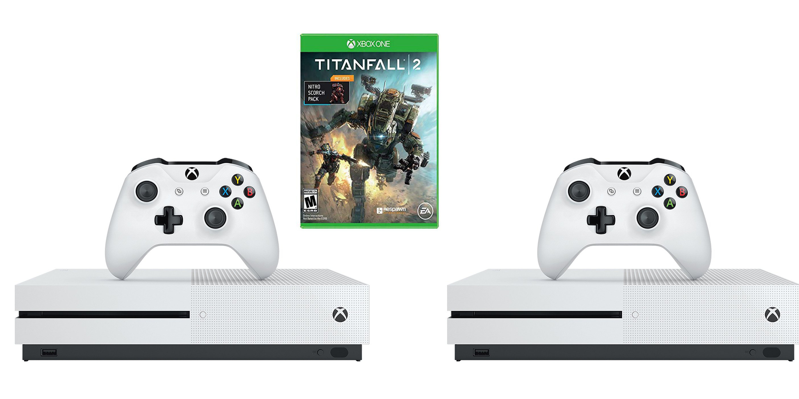 Xbox One S/X Console Bundles up to $200 off: Titanfall 2, NBA 2K19, PUBG, more