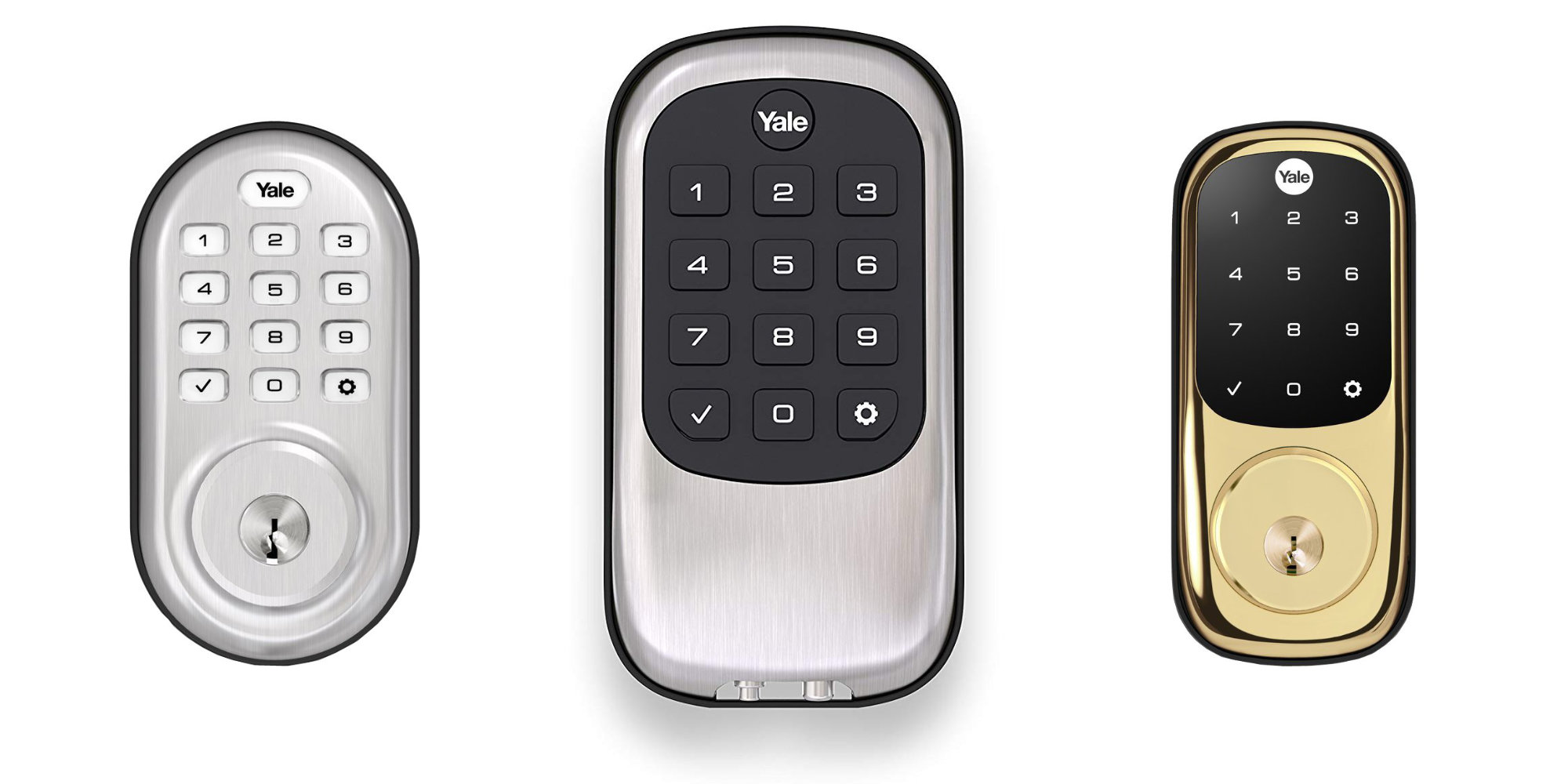 Today only, Yale Z-Wave Smart Locks are up to 40% off w/ prices starting at $92.50