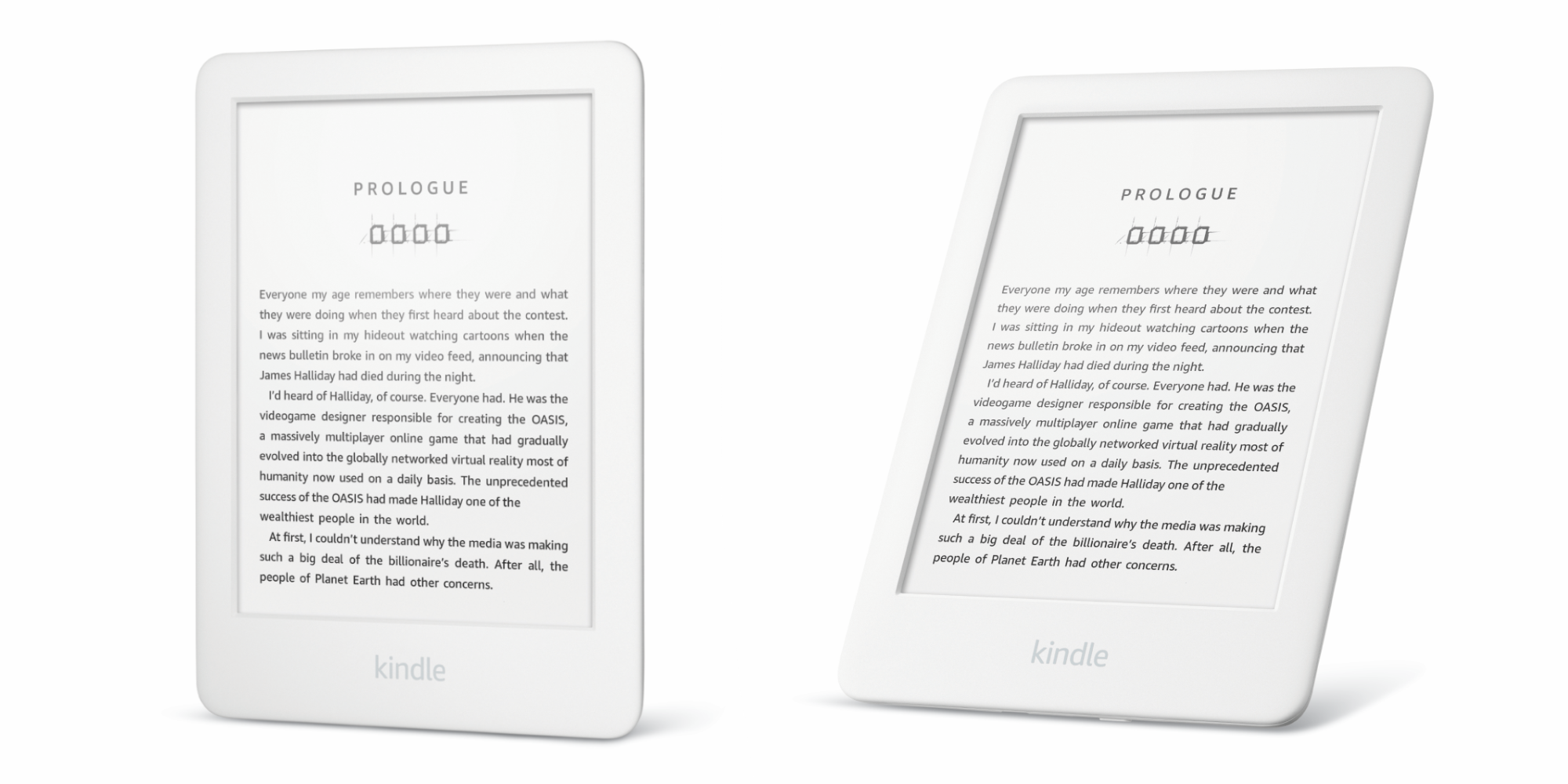 Amazon All New Kindle White