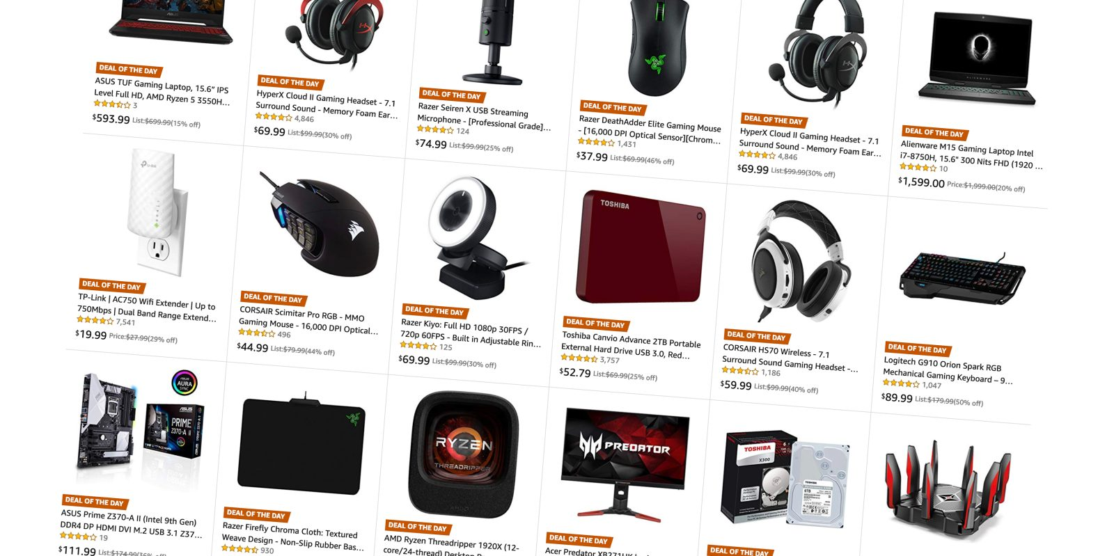 Amazon's Gold Box is loaded w/ Mac + PC gaming accessories: D-Link, Logitech, Razer, much more