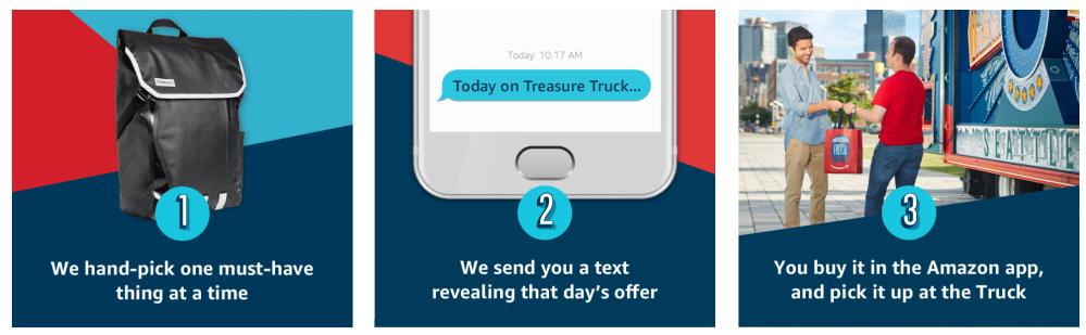 how to use amazon treasure truck