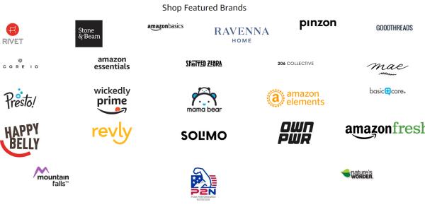 amazon private label brands