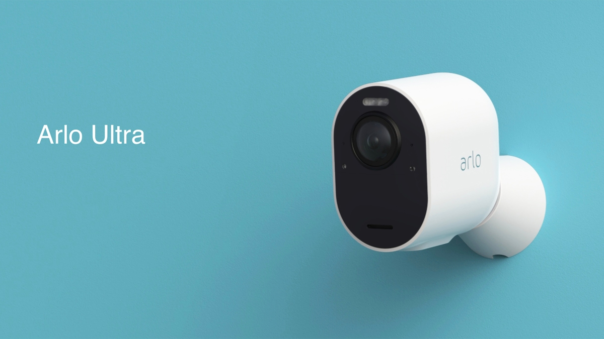 arlo ultra security cameras now available