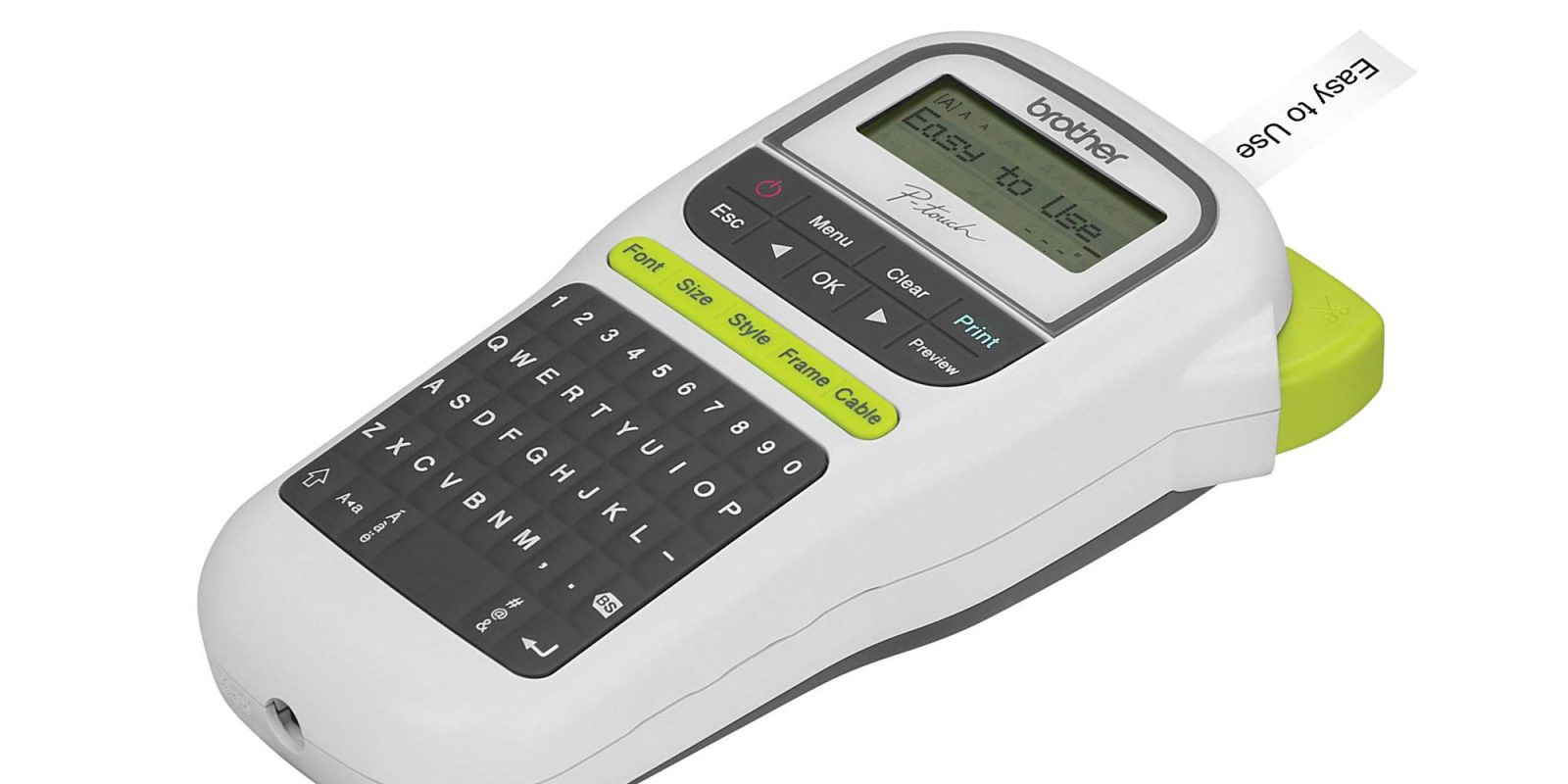 Save 40 On Brother S P Touch Label Maker With A Full Keyboard At
