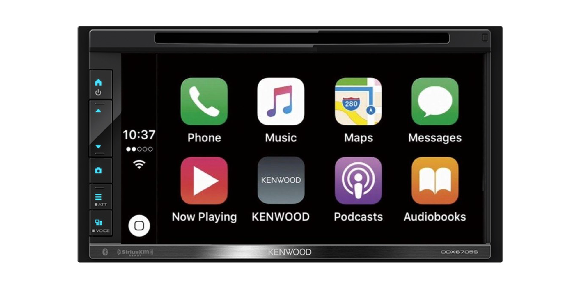 Kenwood S 7 Inch In Dash Receiver Brings Carplay And Android Auto To Your Car For 300 25 Off 9to5toys