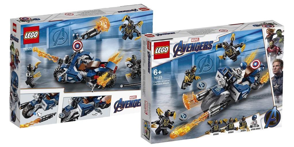 LEGO Avengers Endgame Captain America