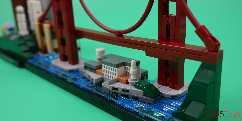Lego Alcatraz Island