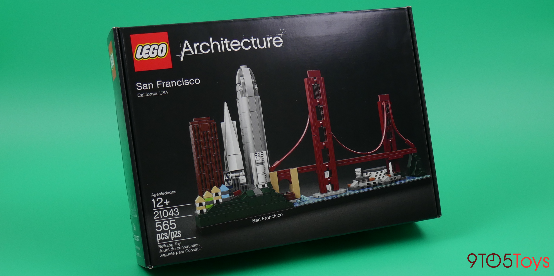Lego San Francisco Skyline Box