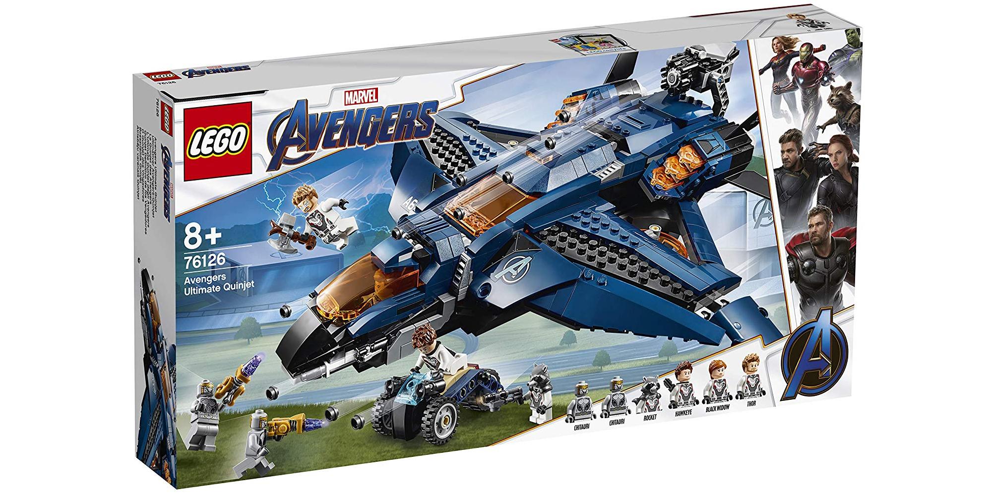 LEGO Avengers Quinjet