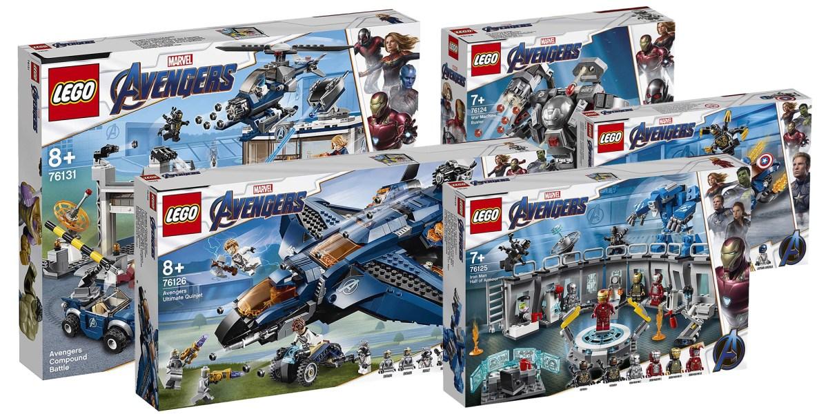 LEGO Avengers Endgame Sets