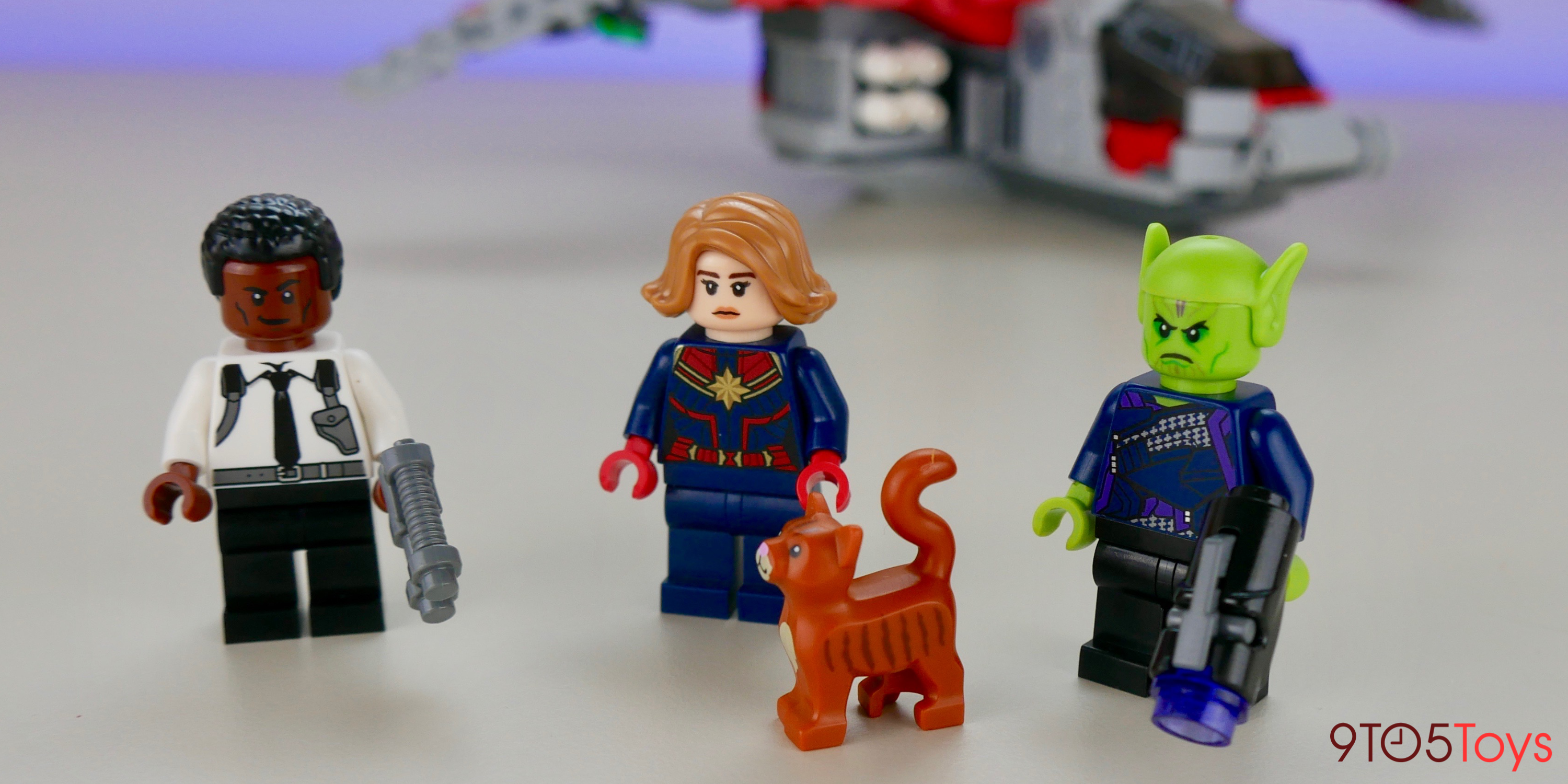 LEGO Captain Marvel 76127 minifigures