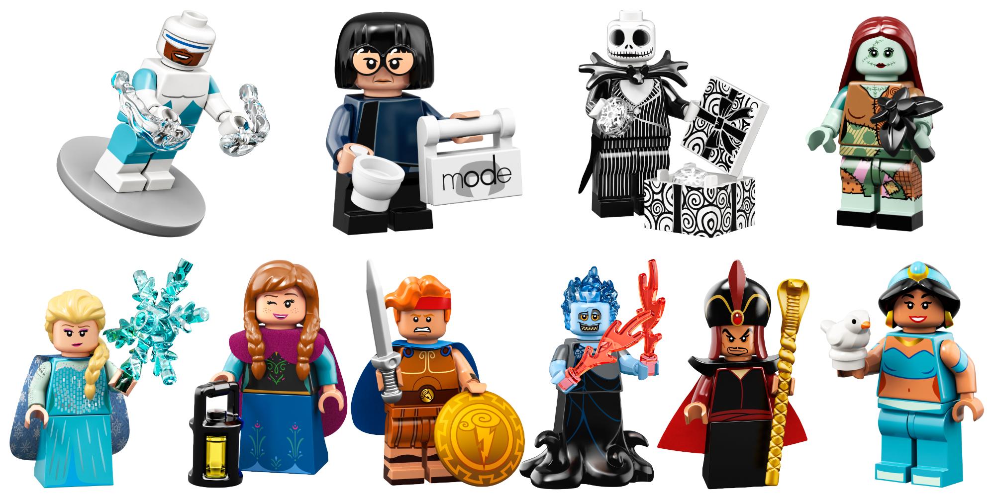 LEGO CollectibleDisney minifigures