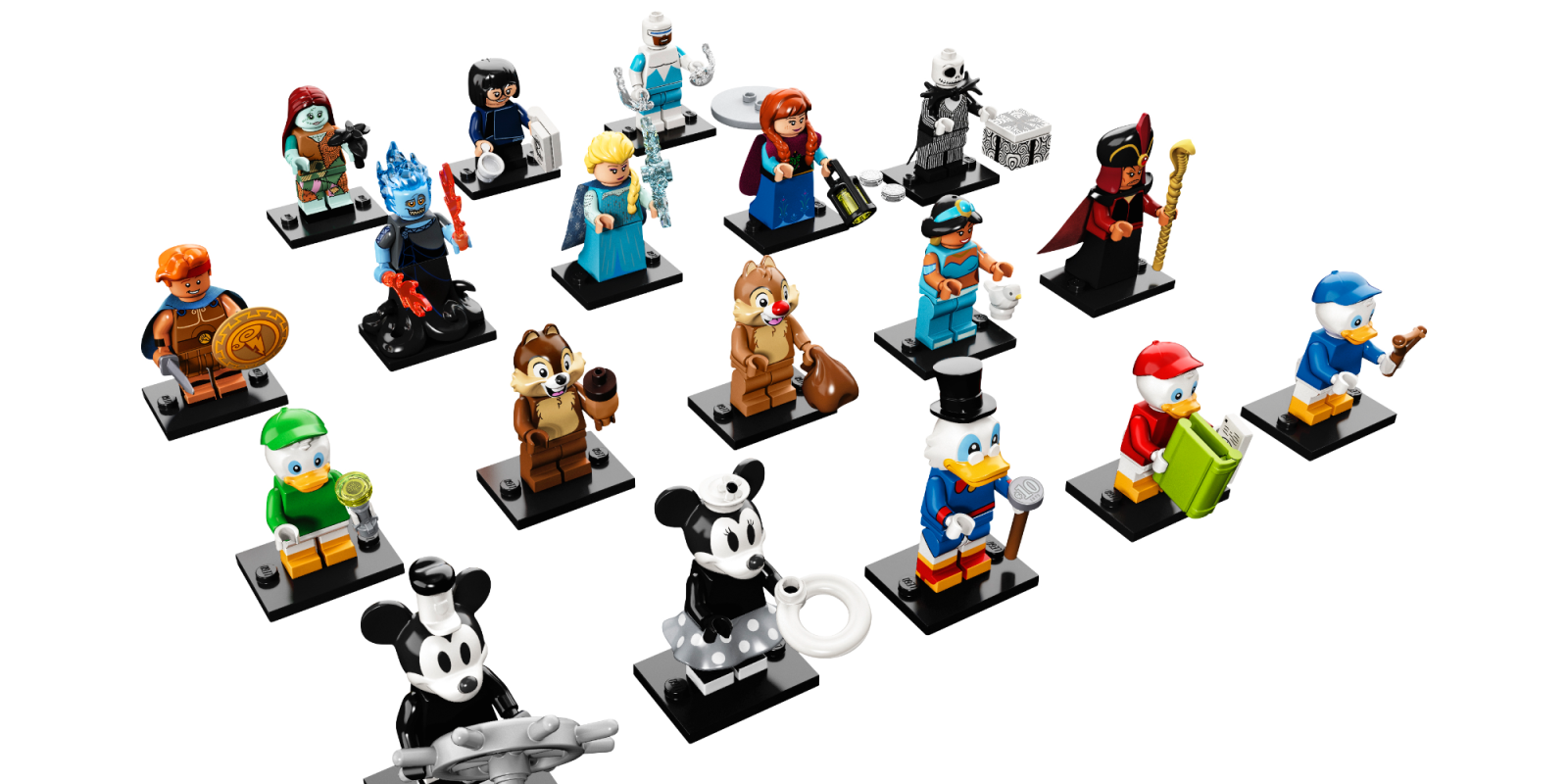 LEGO unveils latest Collectible Minifigure Series with 18 new fan-favorite Disney characters