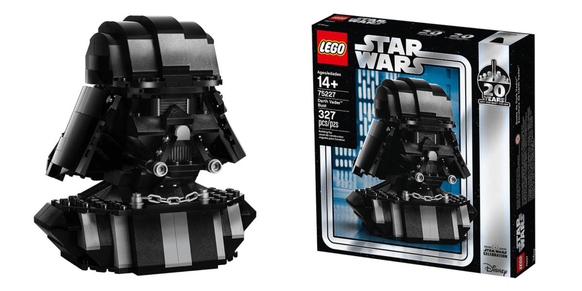 LEGO Darth Vader Bust