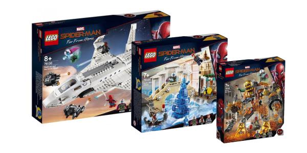 LEGO Spider-Man: Far From Home box art