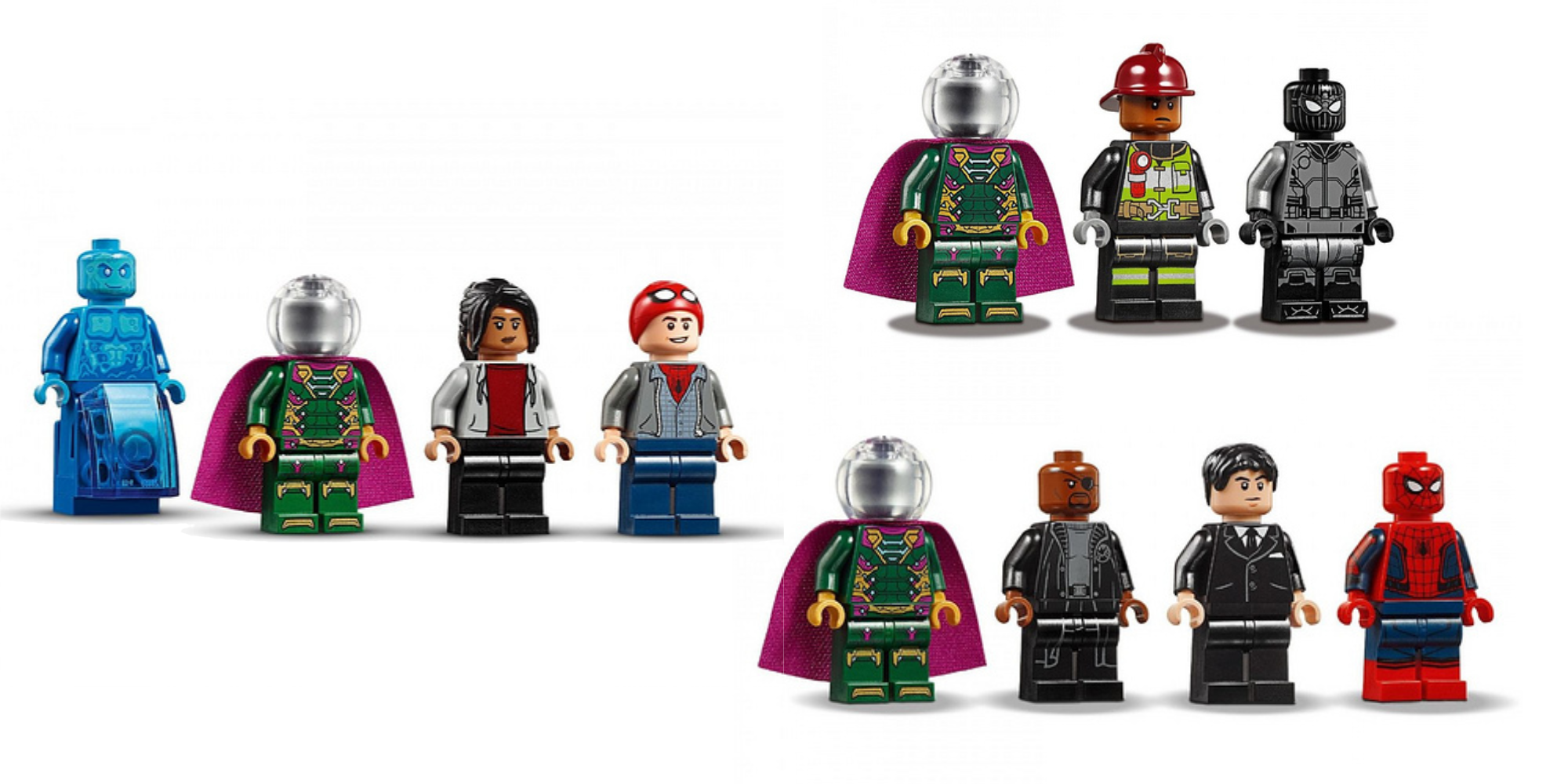 LEGO Spider-Man: Far From Home minifigures