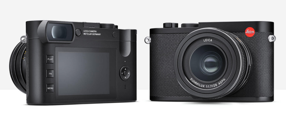 Leica Q2 front and back