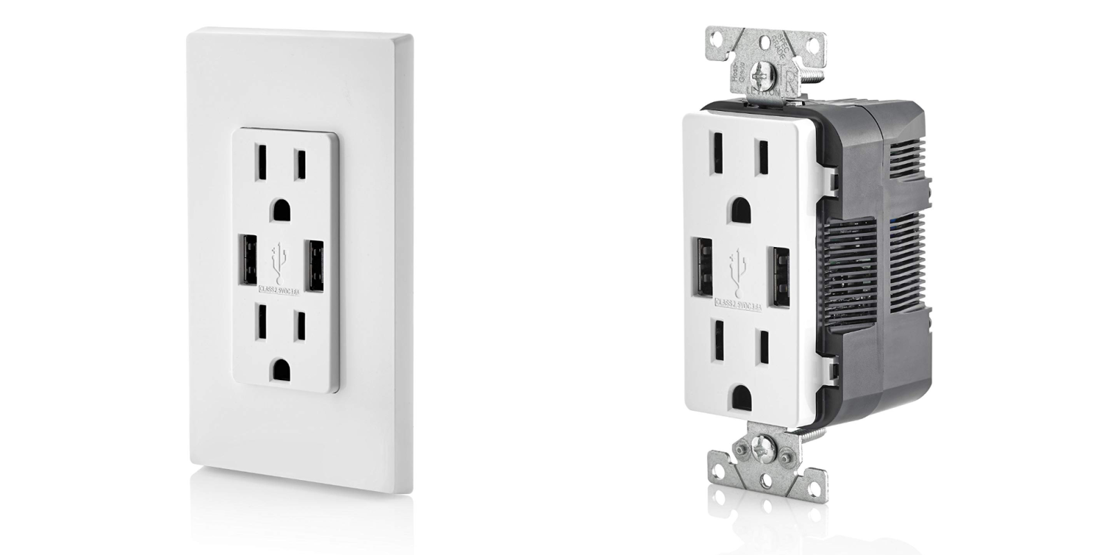 Smartphone Accessories: Leviton Two-Port USB In-Wall Outlet $16 Prime shipped, more