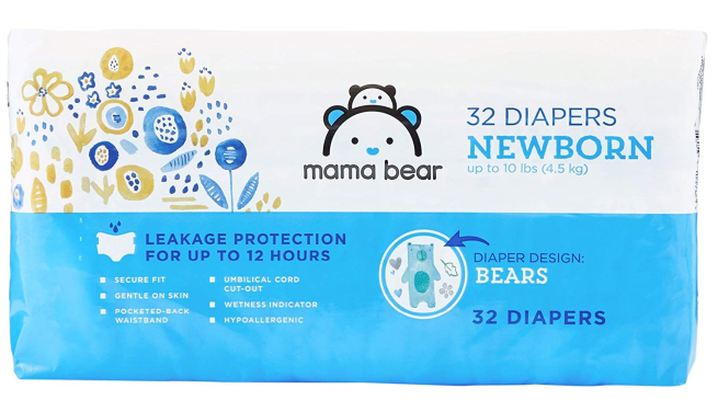 amazon private label mama bear diapers