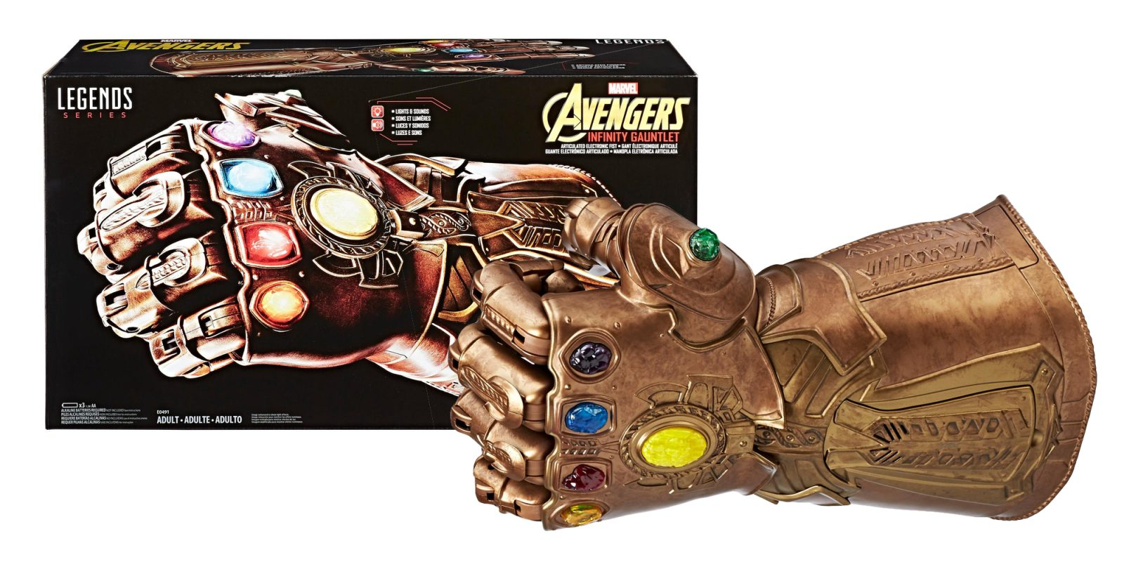 Snap 30% off the Marvel Legends Infinity Gauntlet at $70 (Amazon all