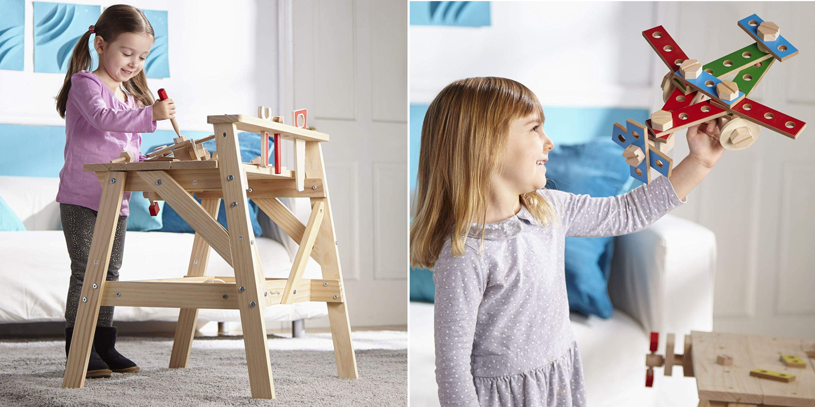 Get the Melissa & Doug Wooden Workbench at one of its best prices yet: $49 (Reg. up to $100)