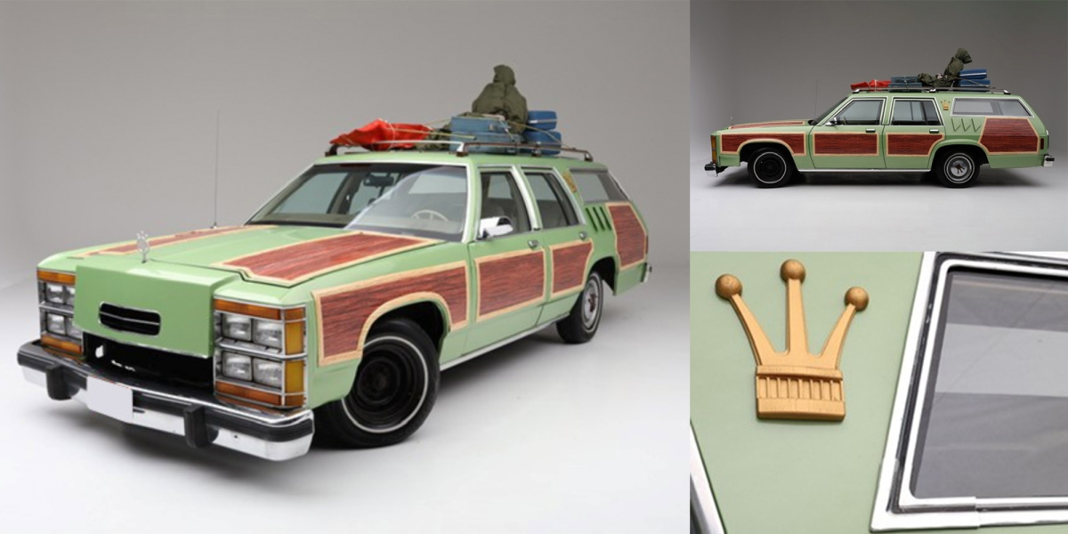 National Lampoon's Vacation station wagon detail