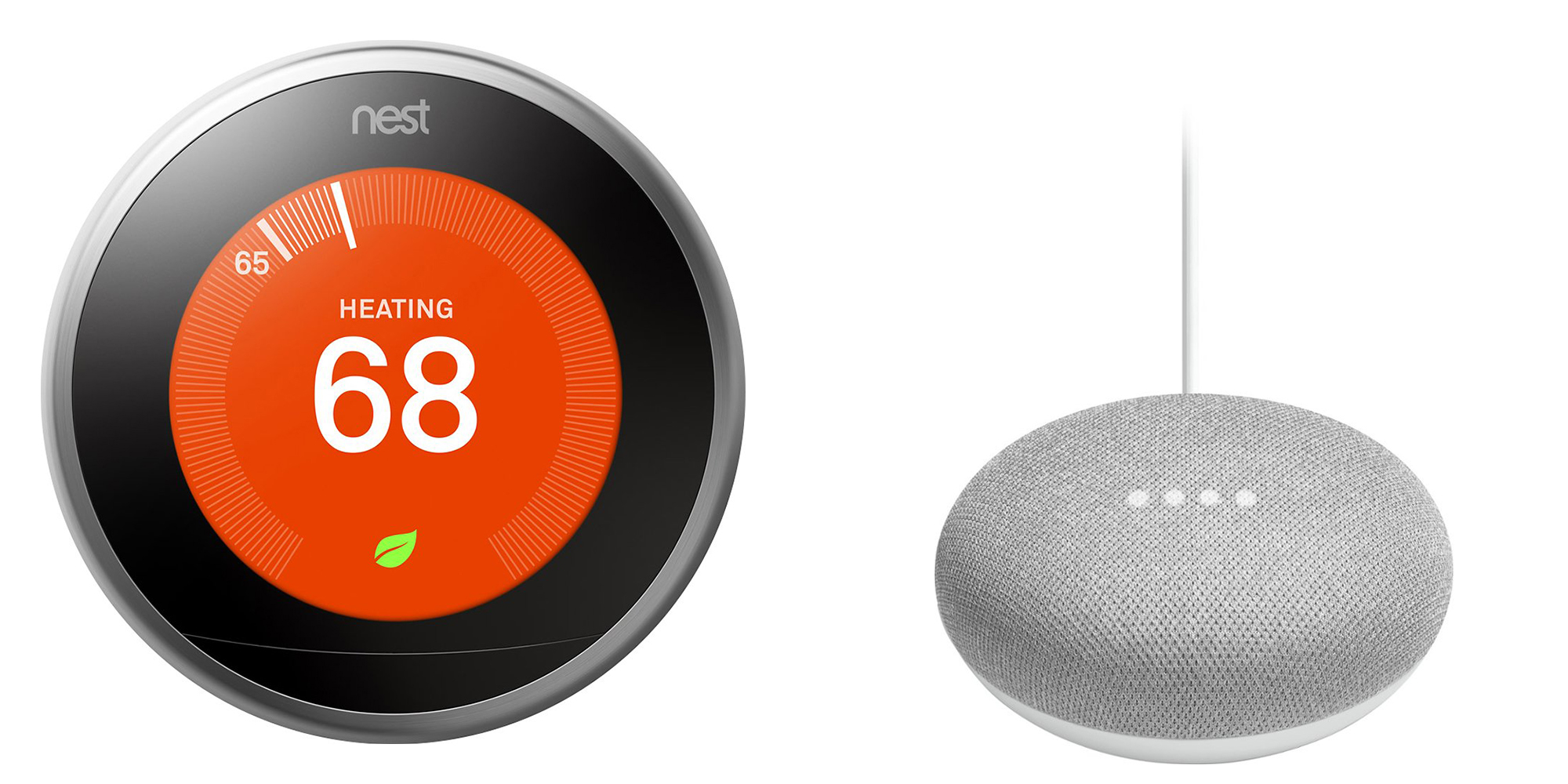 Jump start your smart home w/ a Nest Thermostat + Google Home Mini for $190 ($250+ value)