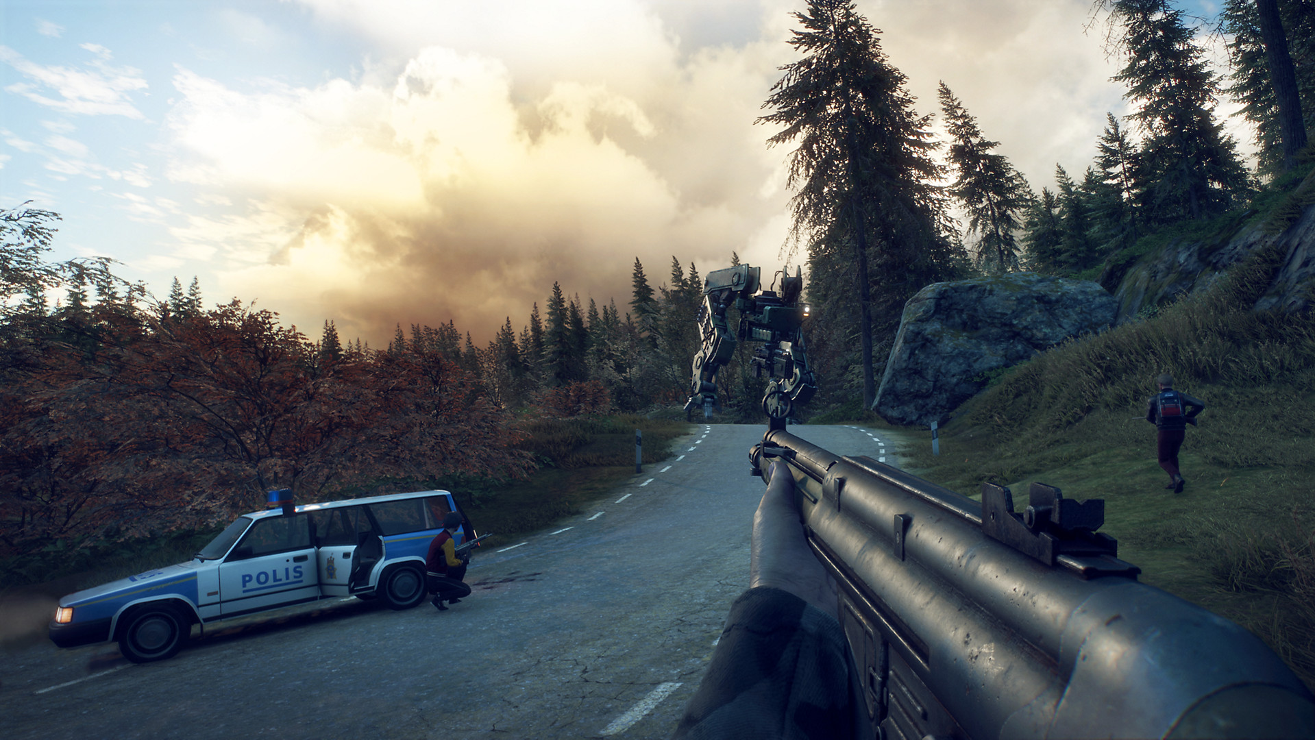 New Generation Zero trailer shows off the game's robot infested open-world & 1980s setting