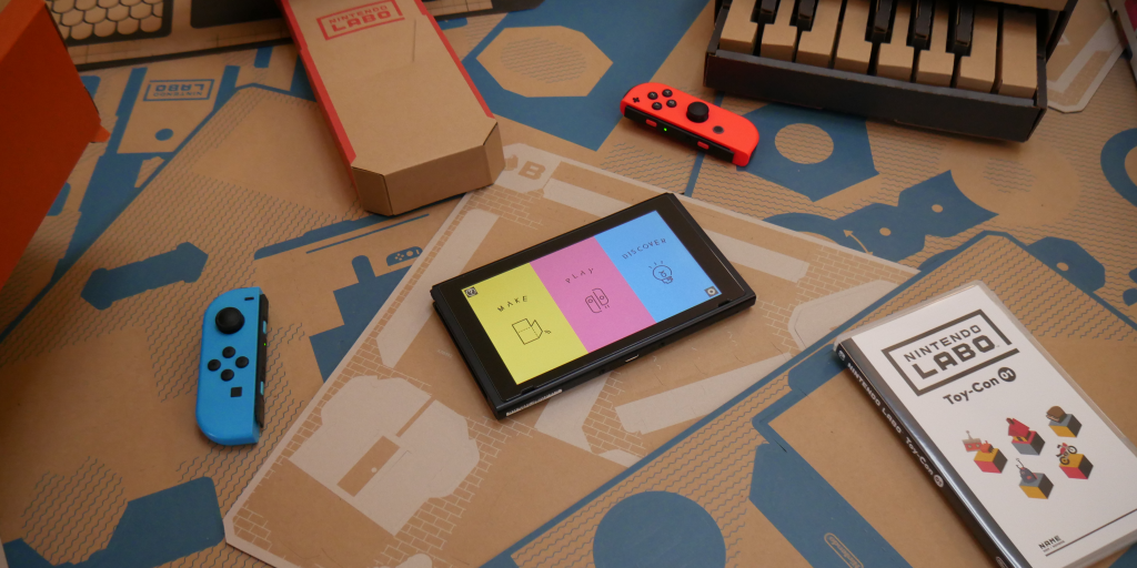 Build Nintendo's Labo Variety and Robot Kits at one of the best prices we've seen: $85 (Reg. $130)