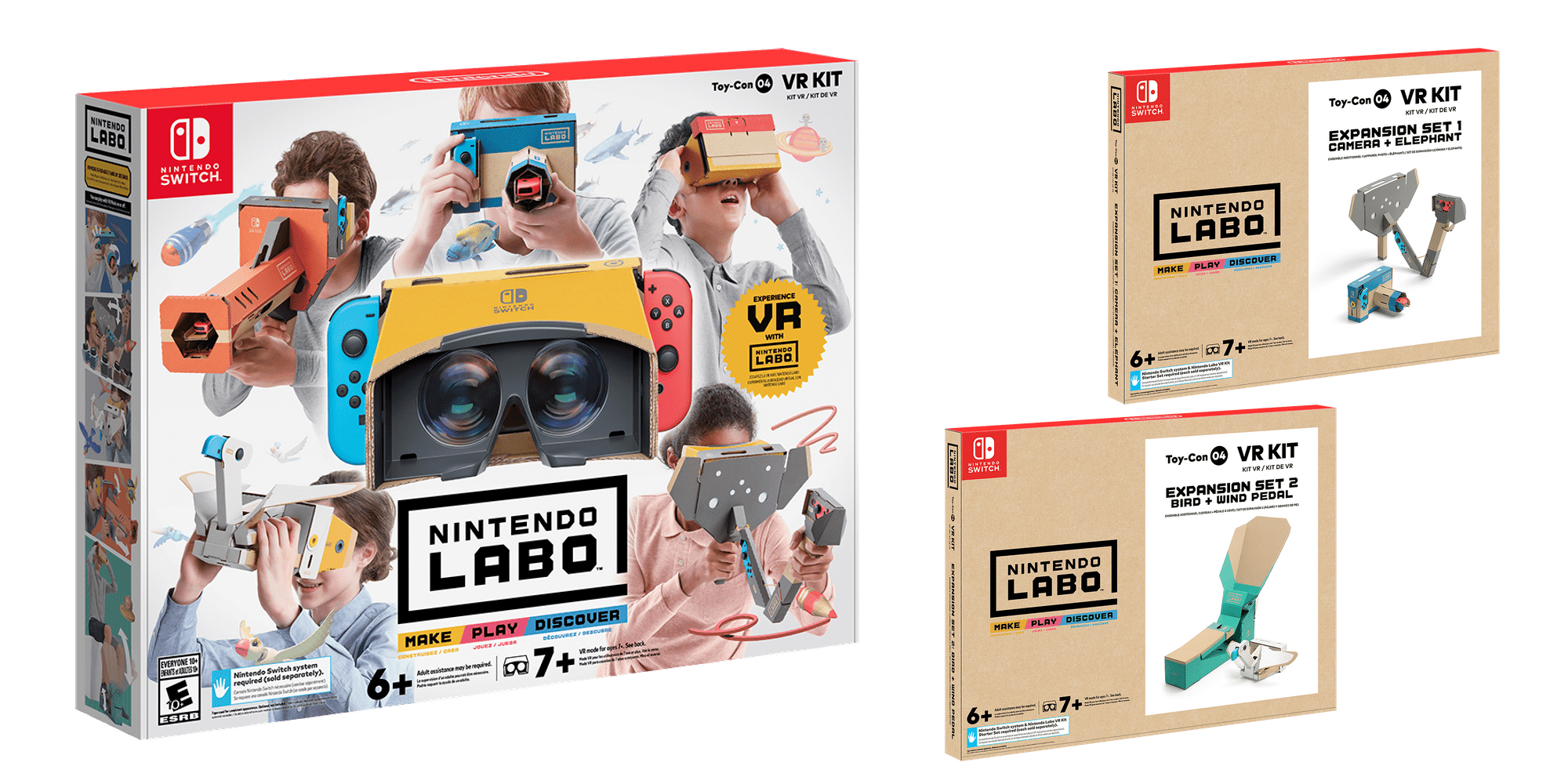 Nintendo Labo VR Kit box art