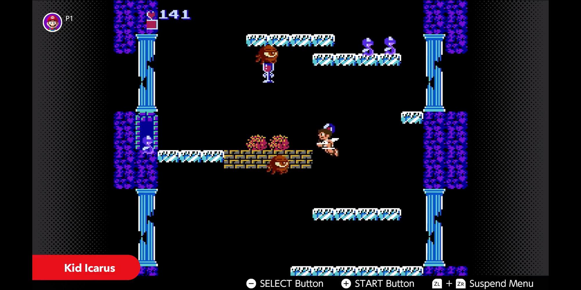 Kid Icarus Gameplay