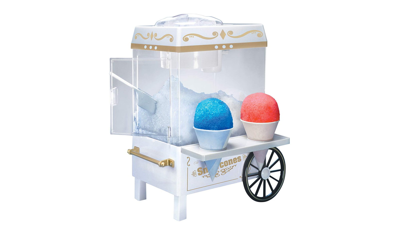 You'll want to have this Nostalgia Vintage Snow Cone Maker for summertime: $22 (Reg. up to $40)