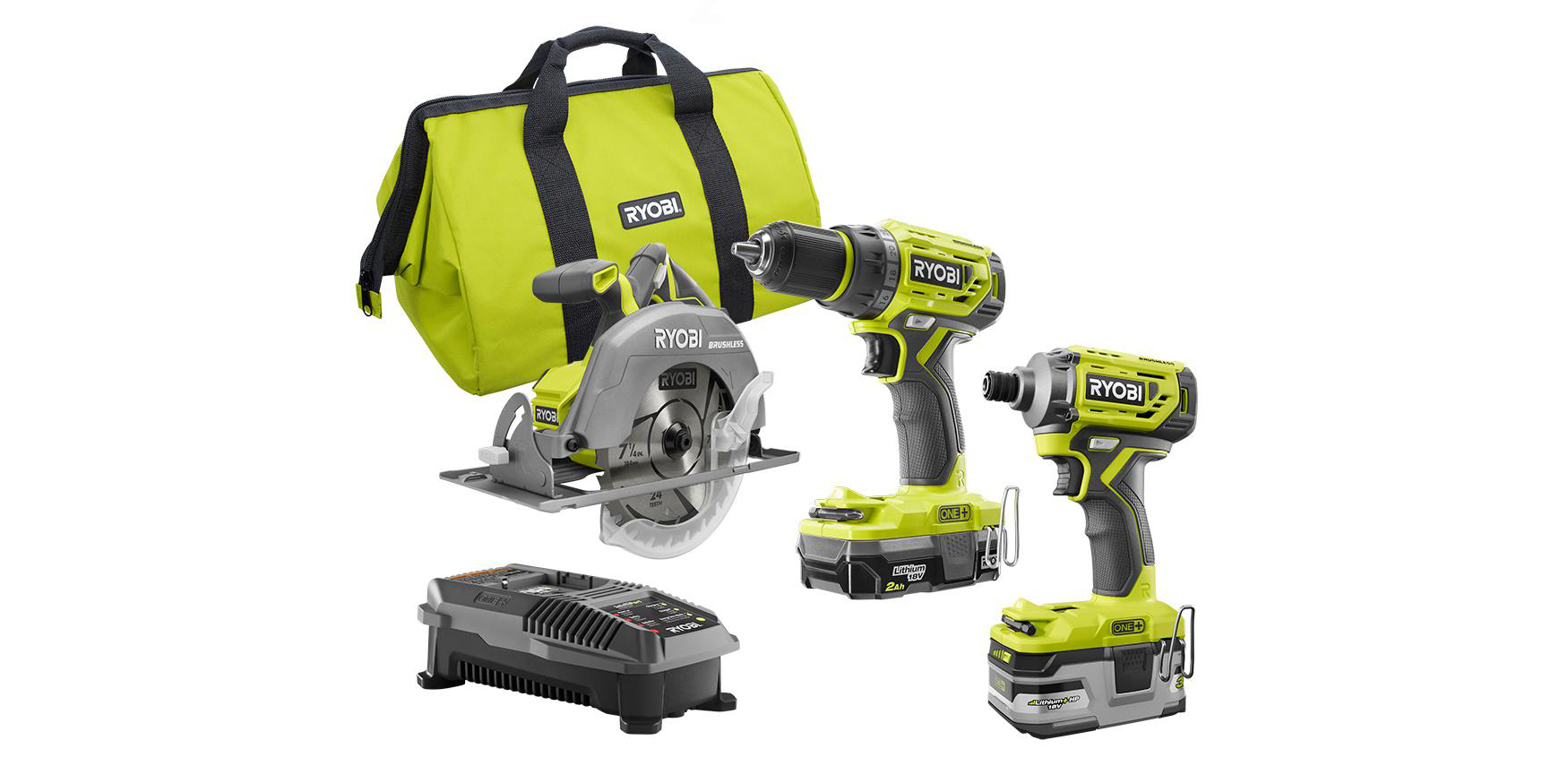 DIYers and weekend warriors should pick up this 3-tool Ryobi bundle for $179 (Reg. $250)