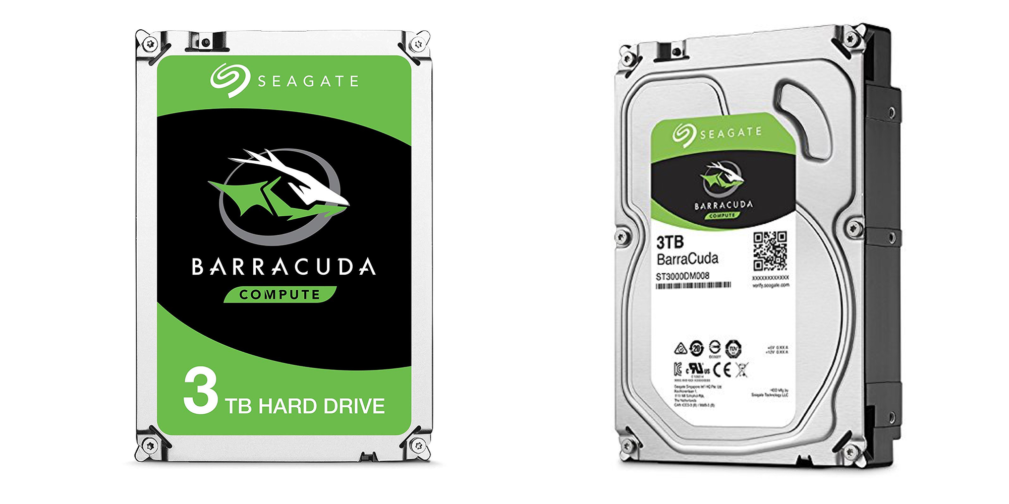 Seagate's BarraCuda 3TB Internal Hard Drive expands your computer or NAS for $70 (Save $15)