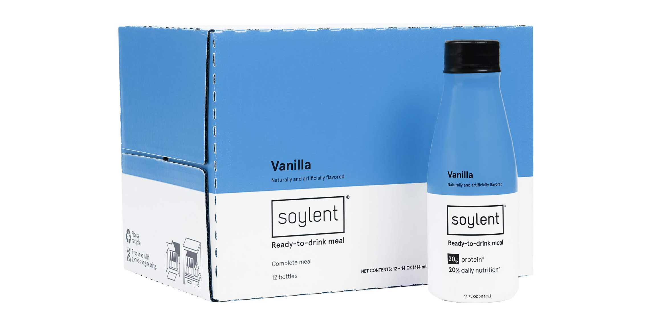 Finally give Soylent a try w/ this 12-pack of meal replacement shakes for $25