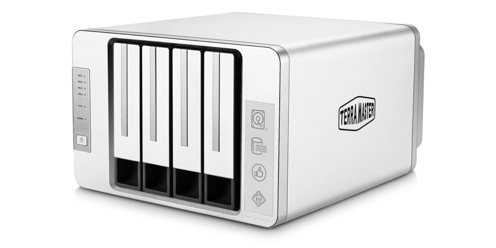 TerraMaster's $200 4-Bay NAS gives your media server an upgrade with a 48TB capacity (33% off)