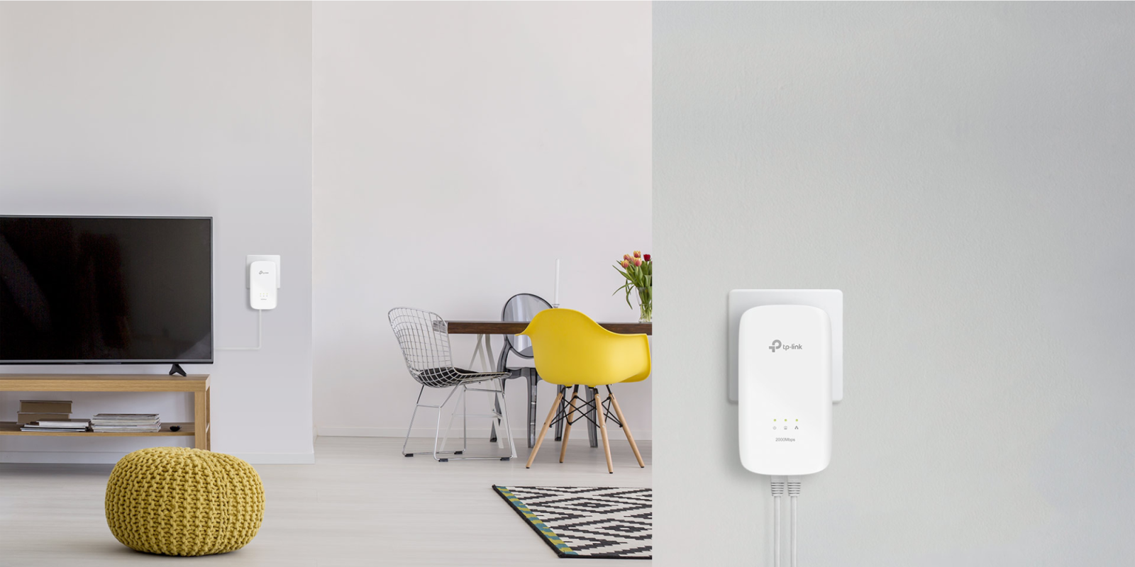 TP-Link's $60 Gigabit Powerline Ethernet Adapter Kit touts up to 2000Mbps speeds (33% off)