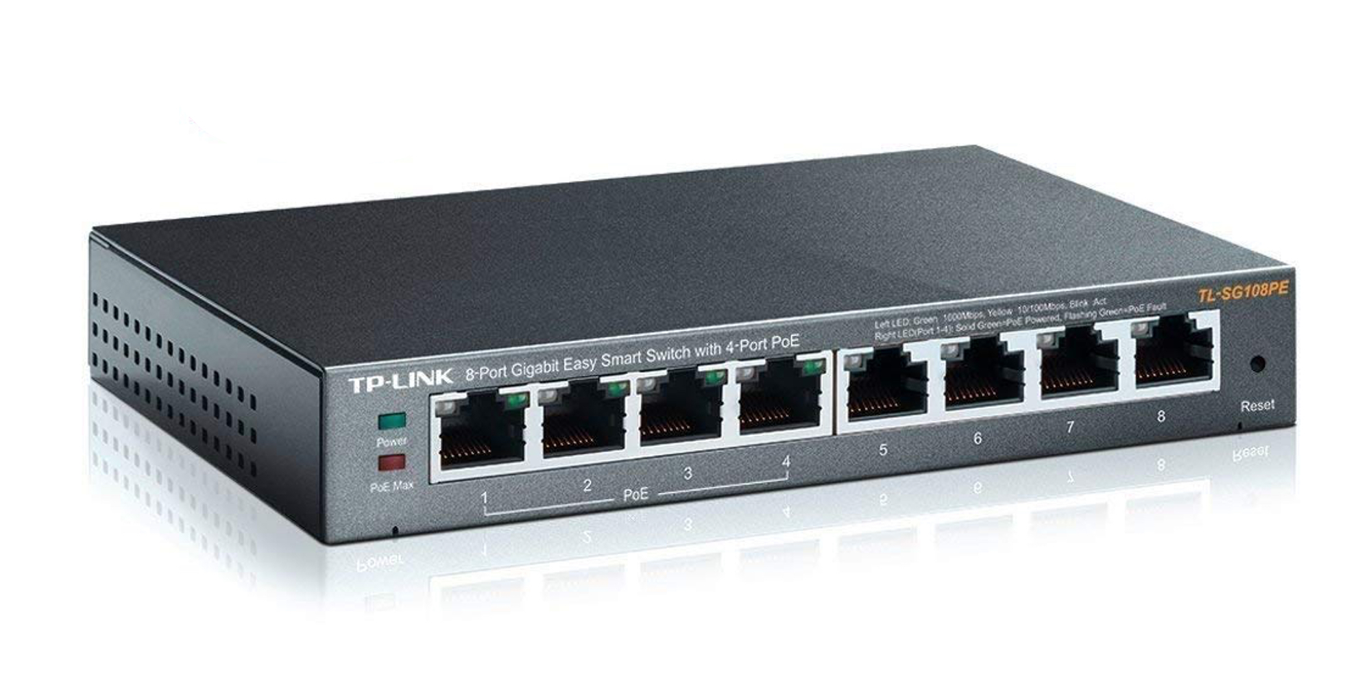 TP-Link's 8-Port Gigabit PoE Managed Switch powers routers, cameras and more: $60 (Save $20)