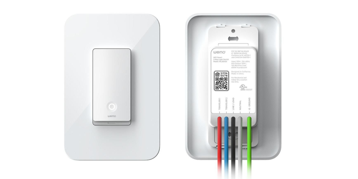 Wemo HomeKit 3-Way Switch
