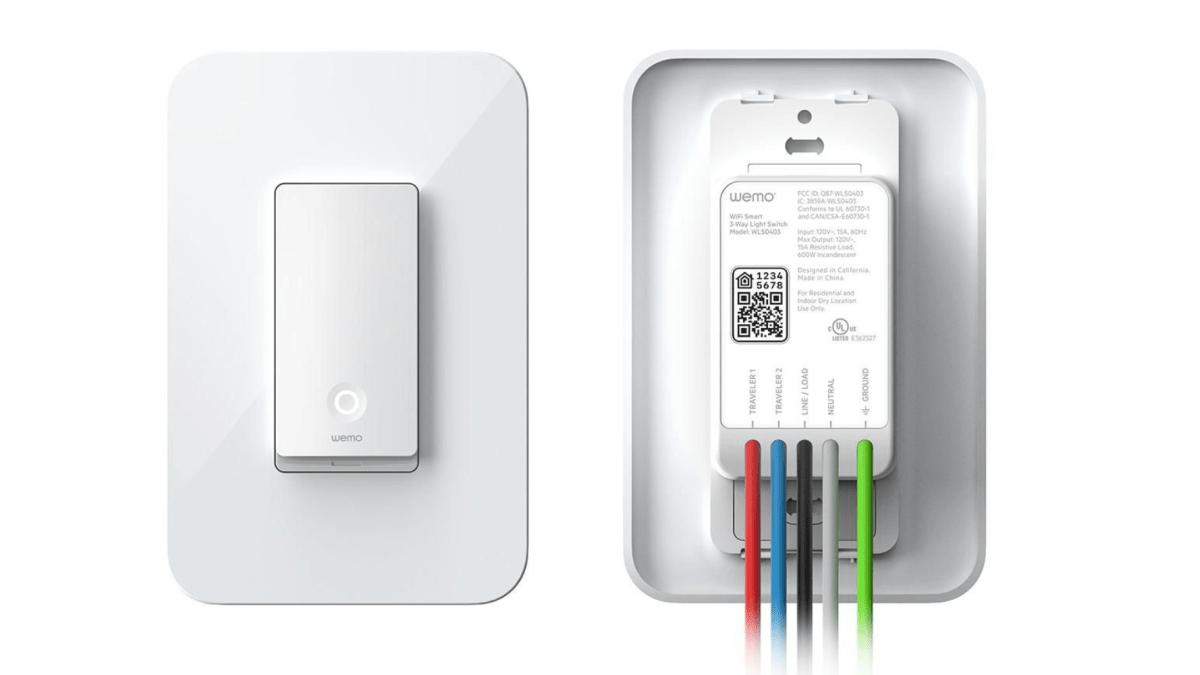 Wemo HomeKit 3-Way Switch