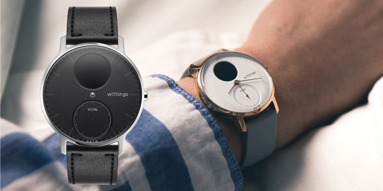 Withings' Steel HR Hybrid Smartwatch returns to Amazon all-time low at $144 (Reg. $180)